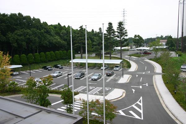 湘南カントリークラブ駐車場写真